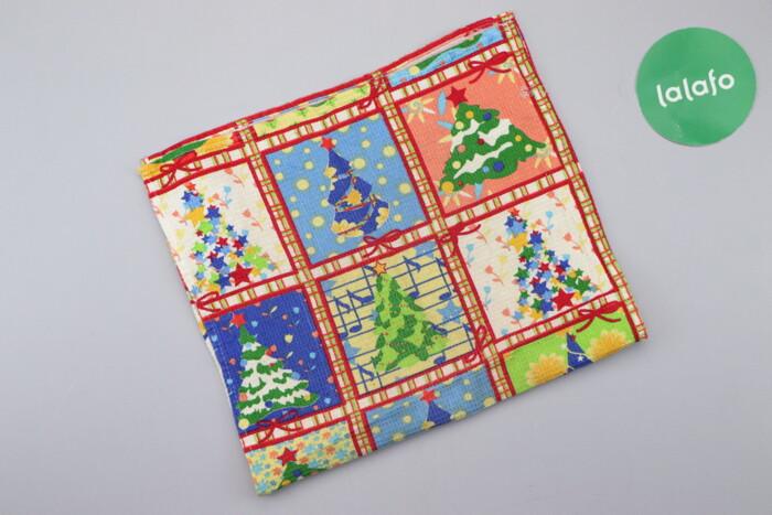 Кухонний новорічний рушник   Розмір: 58 х 32 см  Стан гарний: Кухонний новорічний рушник   Розмір: 58 х 32 см  Стан гарний