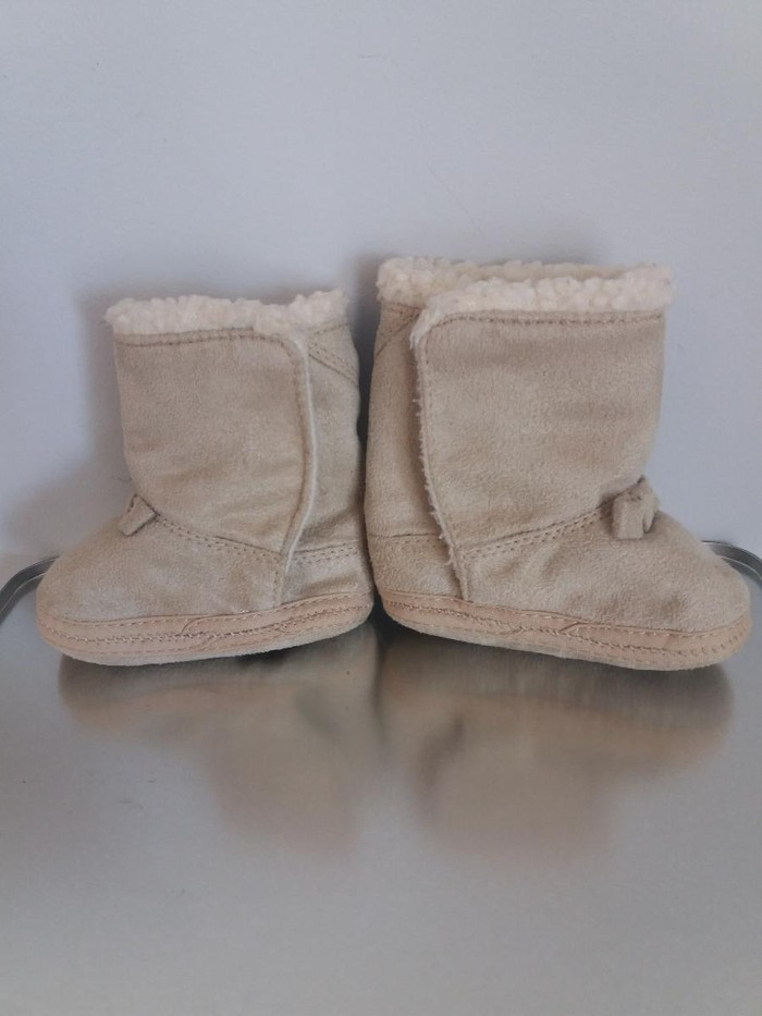 Παιδικά Παπούτσια και Μπότες - Αθήνα: Βρεφικα μπεζ παπουτσακια, χαριτωμενα και ζεστα