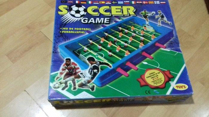 Stoni fudbal. igrica za decu. dimenzije 50 × 35 cm. novo