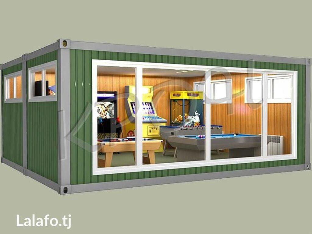 Контейнеры -переделка потолки, увеличение, полки, витрины