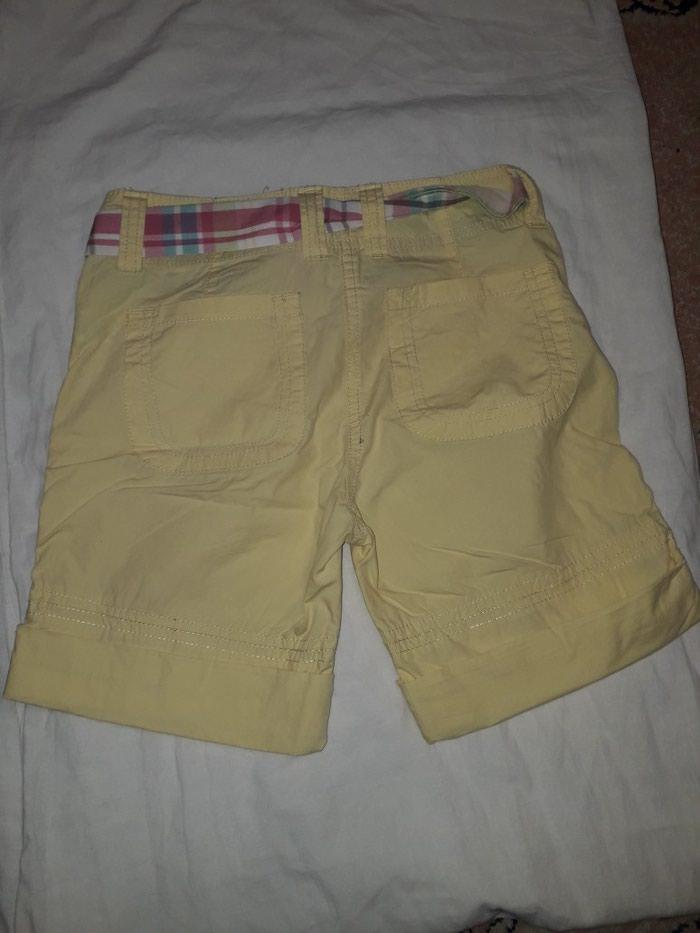 Pantalonice za devojcicu, vel 134, zute boje, bez ostecenja.. Photo 2