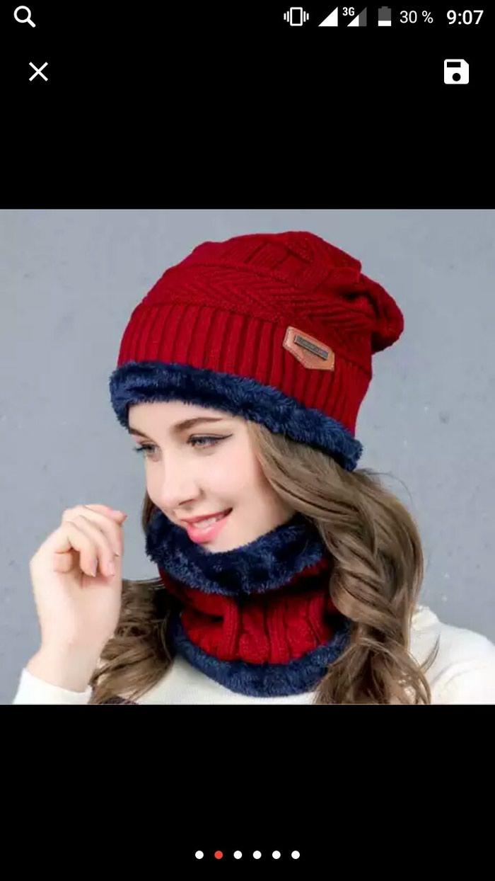 Зимный шапка для женщины. Photo 0