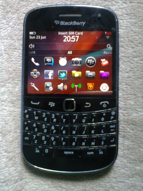 BlackBerryy bold 9900