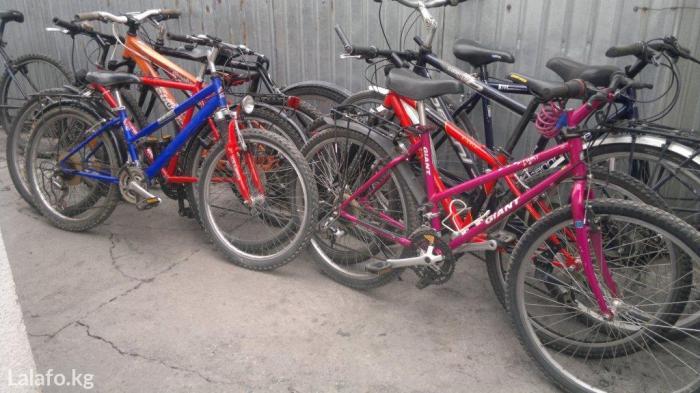 Велосипеды из германии от 6000 сом и выше состояние б. у все в в Бишкек