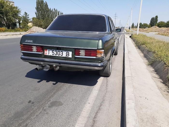 Mercedes-Benz W123 1981. Photo 3