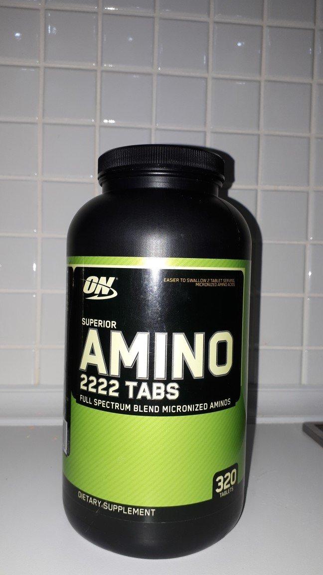 Спортивная питание Аминокислот, Amino 2222tabs , 100% энергии . Photo 0