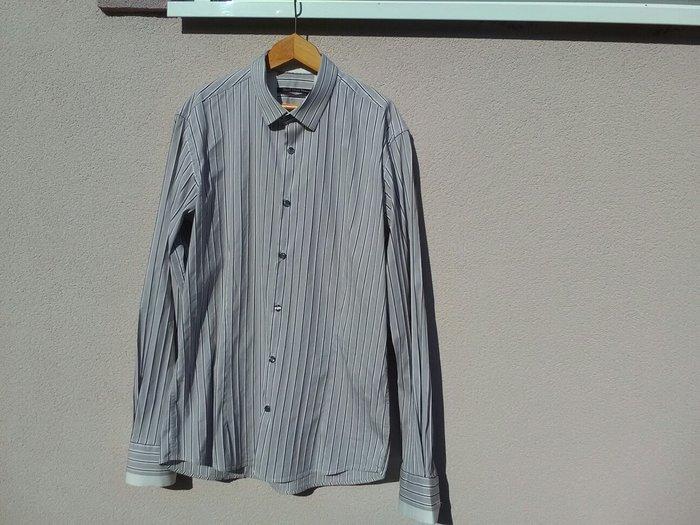 Muška italijanska košulja , kvalitetna, veličina xl, 82 % pamuk, - Pozarevac