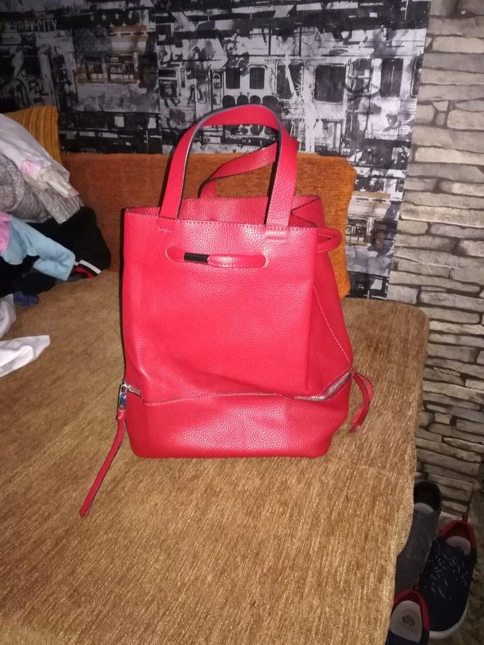 Κόκκινο σακίδιο τσαντακι. Photo 0