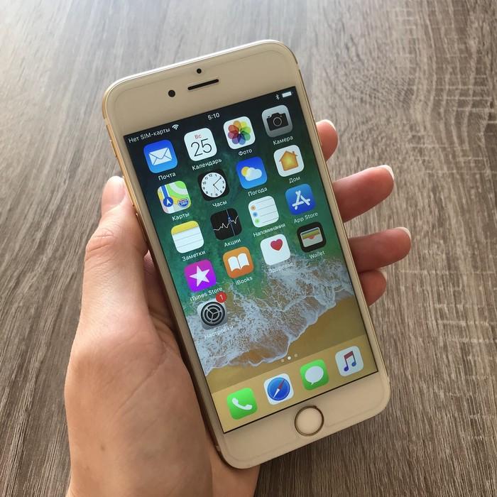 Айфон 6 голд 64 гига в отличном состоянии!!!! . Photo 1