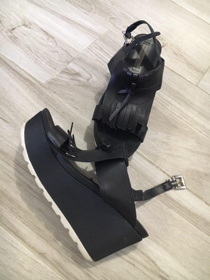 Kozne sandale br 39 NOVO. Photo 0