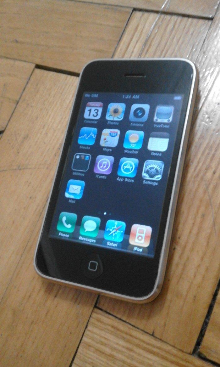 Apple iphone 3g 16gb simfree u solidnom stanju, potpuno ispravan i - Novi Pazar