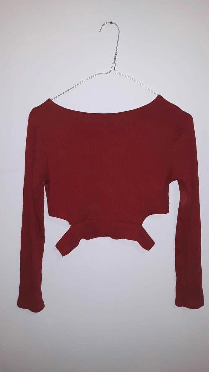 Κοκκινο κροπ μπλουζάκι , μέγεθος small σε Αχαρνές