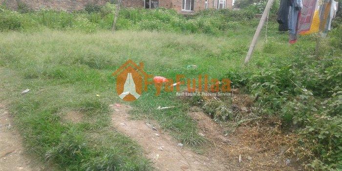 Land having area 0-8-0-0, facing east, 12 feet road is on sale at in Kathmandu