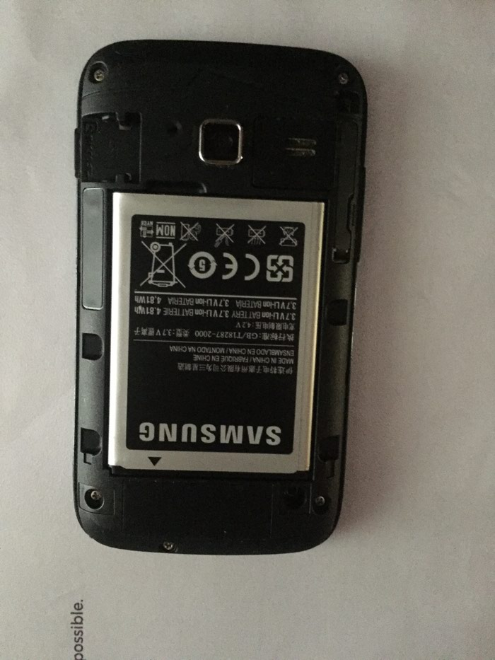 Samsung galaxy Y duos-λειτουργεί κανονικά- δίκαρτο. Photo 2