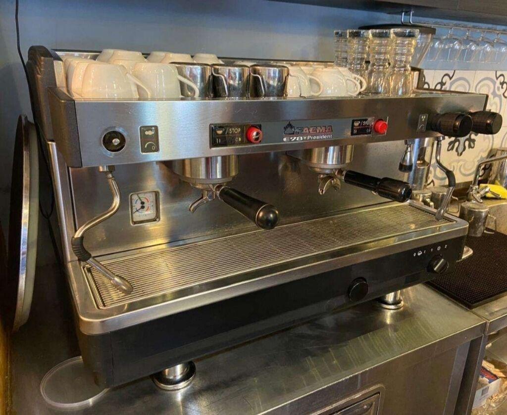 Продается кофемашина (FAEMA President) итальянского производства   Объявление создано 15 Сентябрь 2021 14:55:15: Продается кофемашина (FAEMA President) итальянского производства