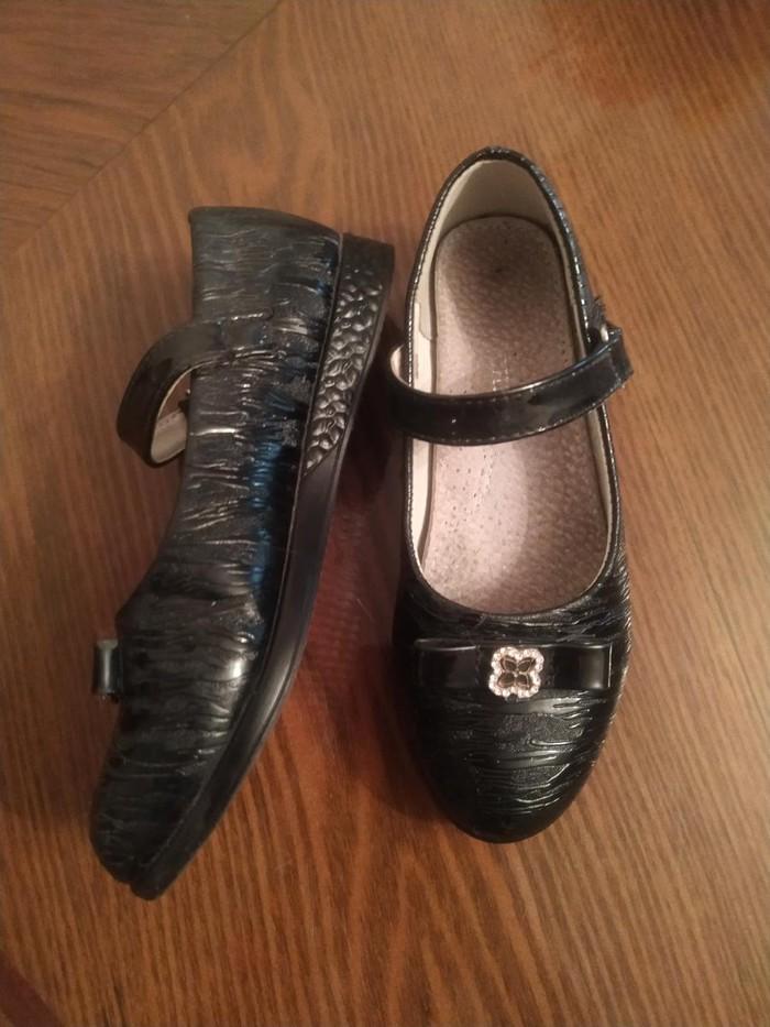 Туфли для девочек школьные Царица 29размер в хорошем состоянии. Photo 2
