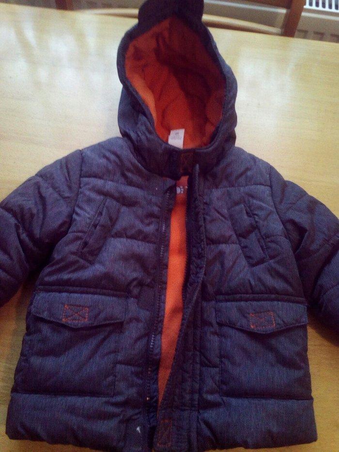 Decija zimska jakna c&a,jako malo nosena,bez ostecenja,veci model za d - Beograd
