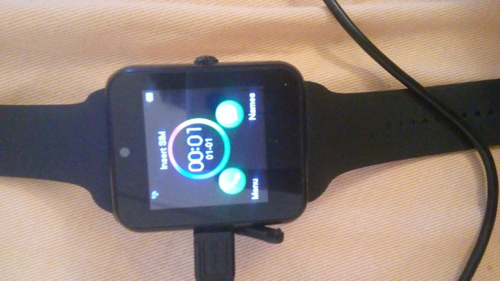 Smartwatch συμβατο με android. Δεχεται καρτα SIM. Photo 1