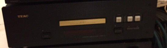 CD player TEAK VRDS -10 HIGH END , RARE /GOLD  πολύ καλή κατασταση . Photo 1