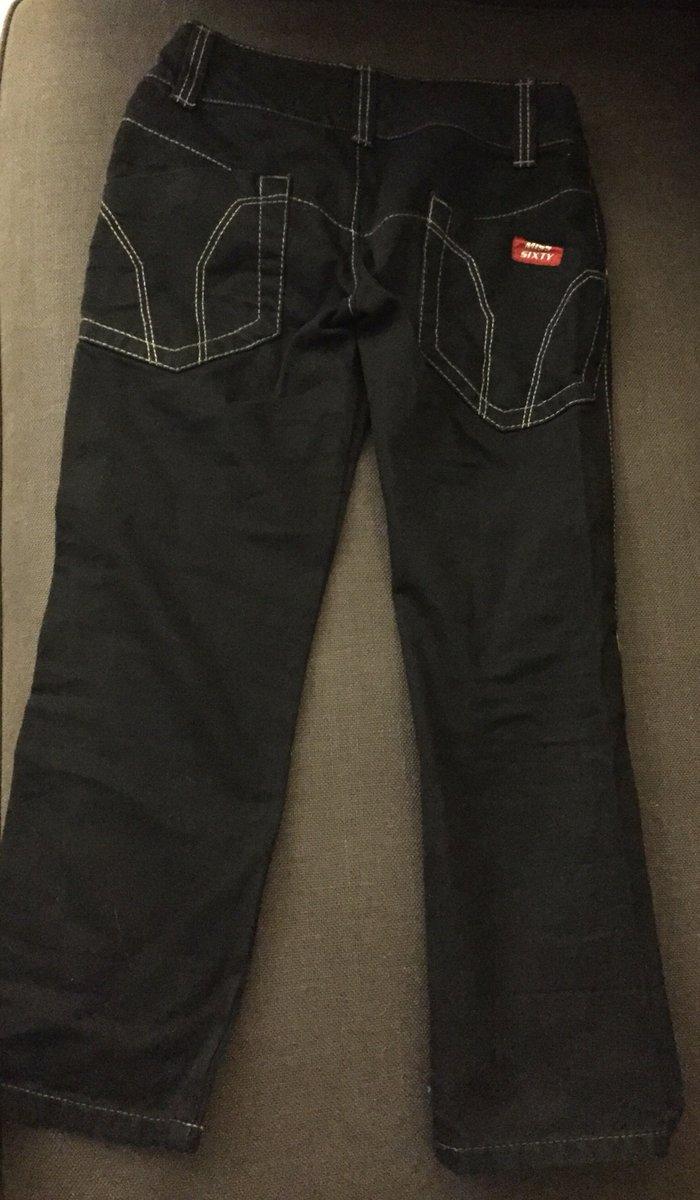 ΙΜαύρο jean capri , miss sixty . Νο 25 Αγορασμένο από τη Ρώμη 87€ . Αφ. Photo 1