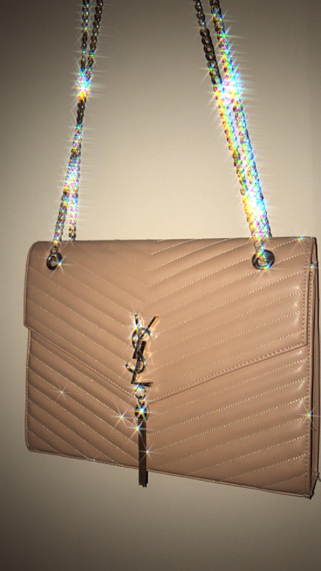 Μεγάλη τσάντα σε ροζ-nude χρώμα
