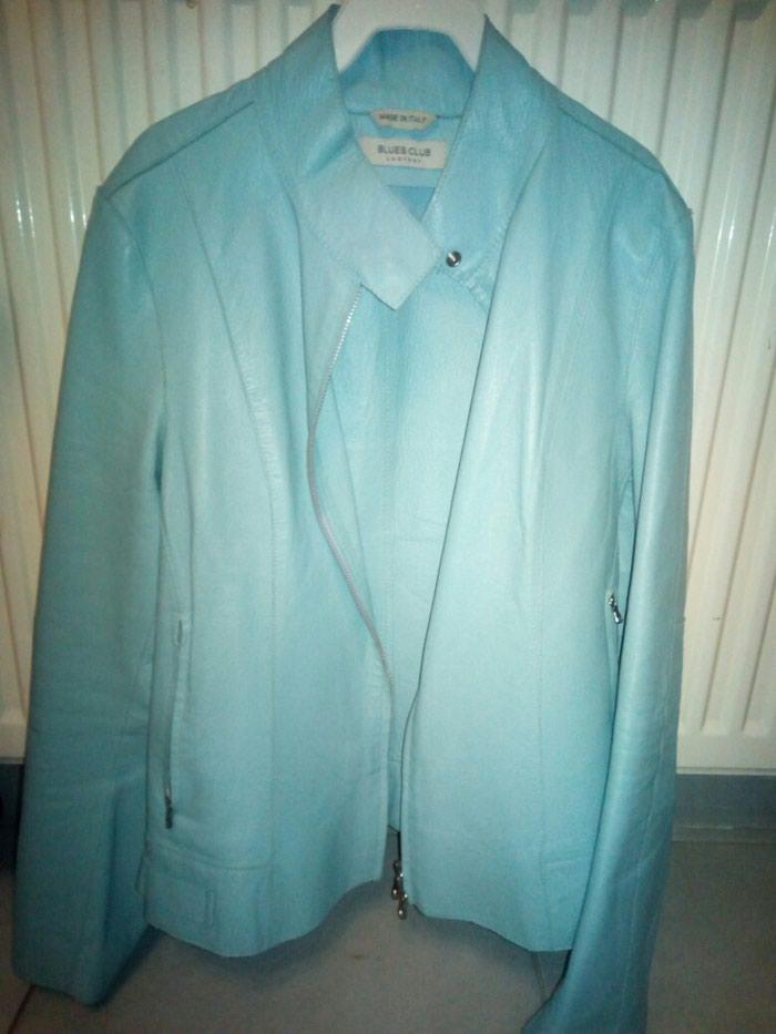 Δερμάτινο μπουφανακι οινοπνεύματι χρώμα τέλεια εφαρμογή...!!! σε Γαλατάς