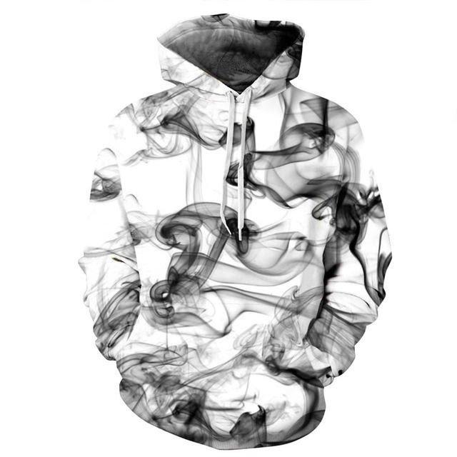 Καινουργιο Φούτερ σχέδιο καπνού σε όλα τα νούμερα (S,M....). Photo 0