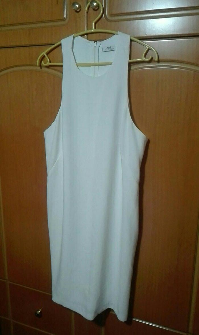 Φόρεμα λευκό mango large. Photo 1