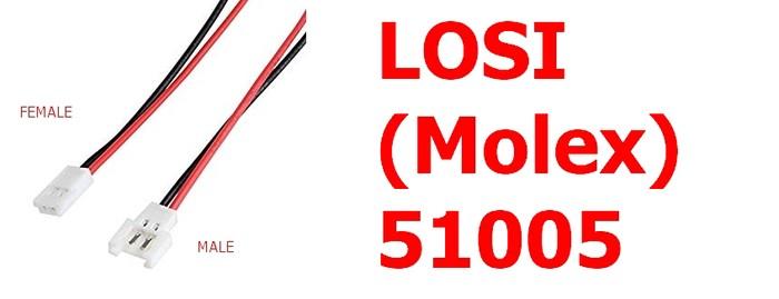 LOSI (Molex) 1 par muško/žensko sa kablom 15 cm