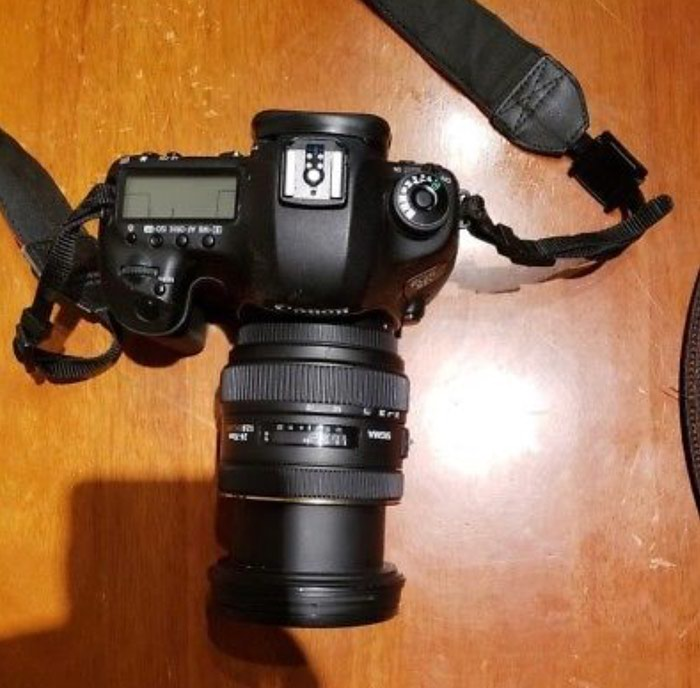 Canon EOS 5D Mark iii 12.8MP Digital SLR Camera - Black. Photo 4