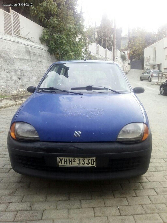 Fiat Seicento 0.9 l. 1999   225000 km   η αγγελία δημοσιεύτηκε 18 Νοέμβριος 2020 18:53:54: Fiat Seicento 0.9 l. 1999   225000 km