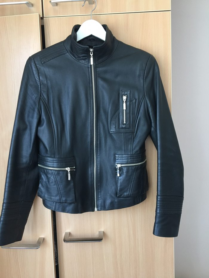 Kožna jakna(prava koža) Marka: Luciano (XXL ali zapravo L). Photo 0