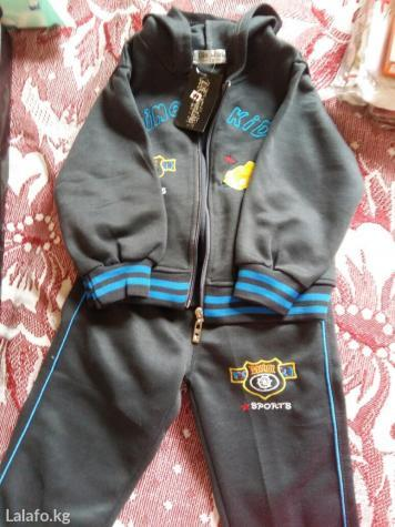 Спортивный костюм. новый. на 2-3 года. предлагайте цену, если меня уст в Бишкек