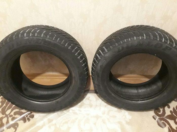 Dunlop 2 cüt təkər. Şporlar əladır. ölçüsü 225/60/15. Photo 0