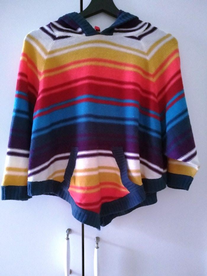 Πολύχρωμο πουλόβερ με κουκούλα, Η&Μ, Μedium, 12€. Photo 0