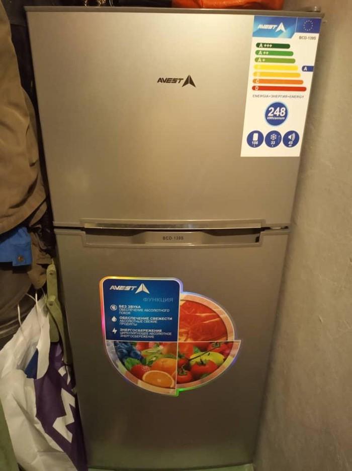 Маленький холодильник б/у цвет серый в очень хорошем состоянии.. Photo 1