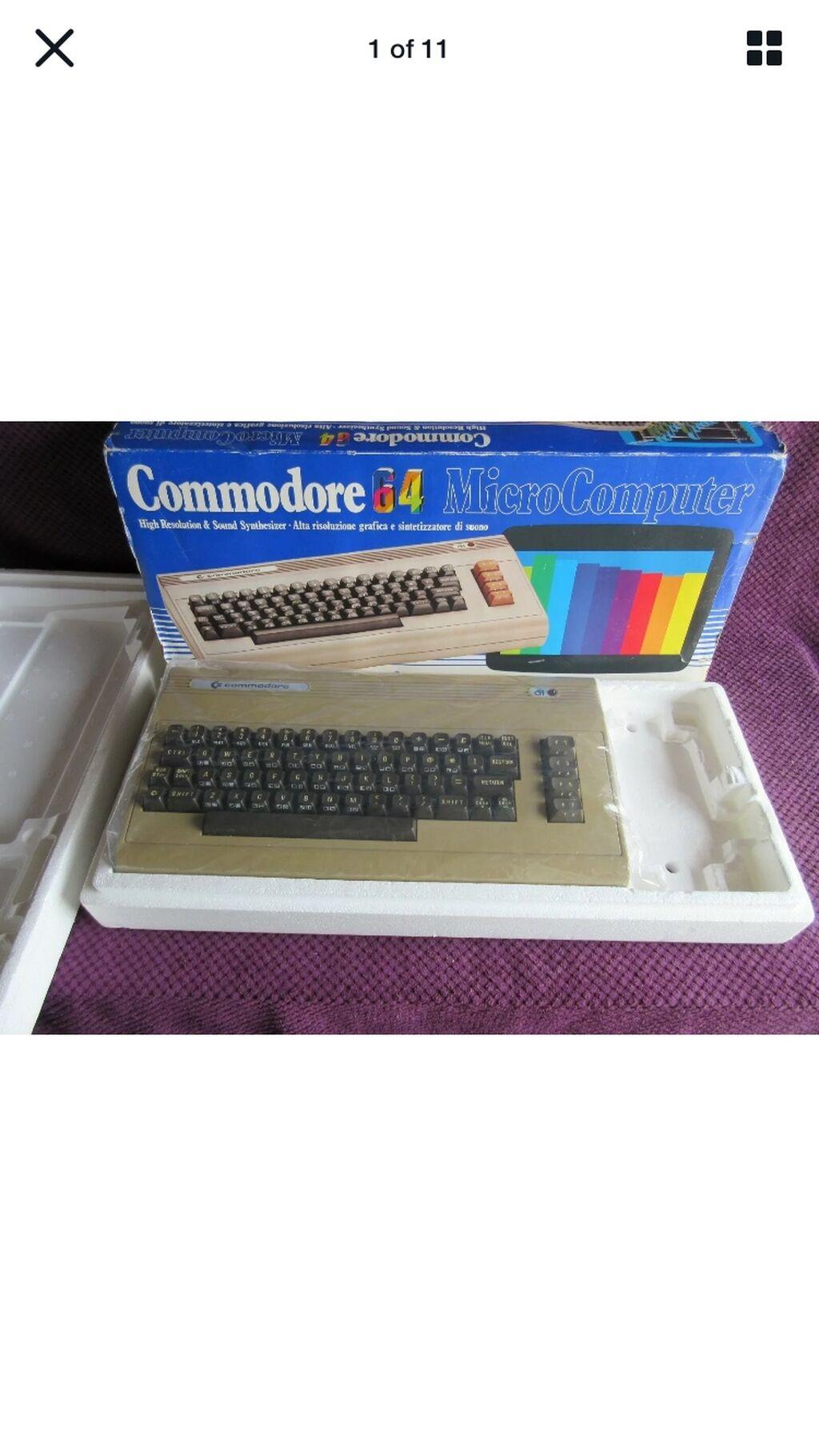 Ζητώ κουτί από Commodore 64(sleeve και φελιζόλ μόνο) ,καθώς και floppy 1541 με τα καλώδια του λειτουργικό