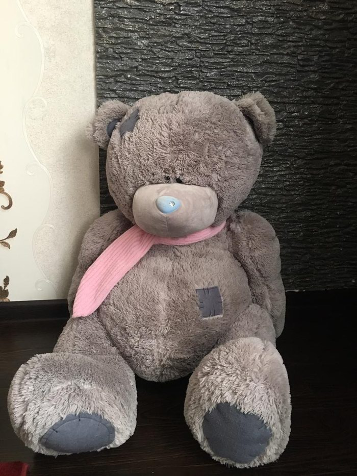 Мягкая игрушка Тедди. В хорошем состоянии. Подарили недавно .. Photo 0