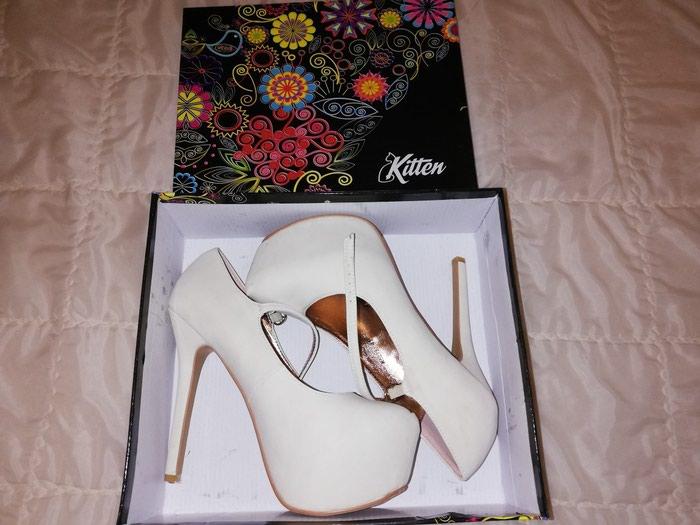 Bele štikle iz Office shoes, broj 41, cena 1000din. - Sombor
