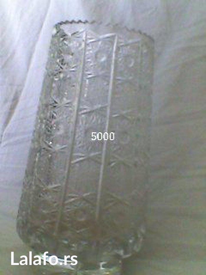 Kristalna vaza, ocuvana - Beograd