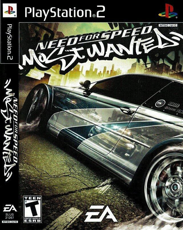 Bakı şəhərində PS2 oyun diski Most Wanted
