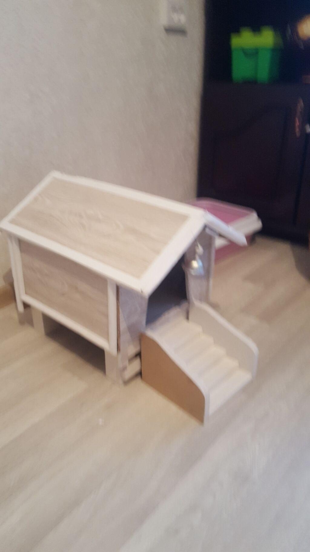 Продаю красивый домик для кошечки: Продаю красивый домик для кошечки