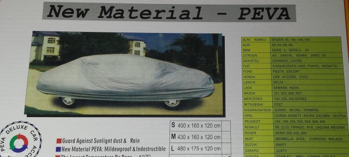 Cerada-Cirada za auto L 480 X 175 X 120cm - Beograd