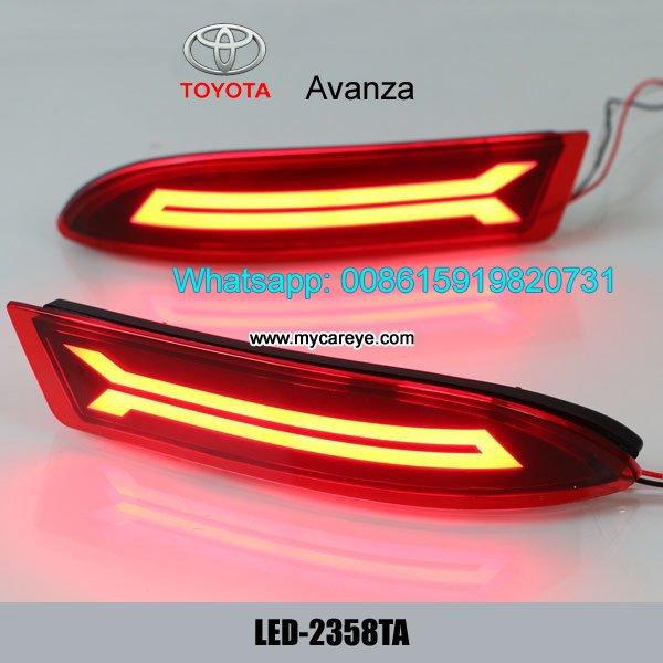 Toyota Avanza LED Rear Bumper Brake Turn Signal Lights lamps  Model in Malangawa