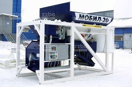 Бетонный завод Мобил-20Характеристики установки в Душанбе