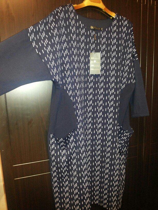 платье трикотаж больших размеров ост.56 и 58 размеры. в Бишкек