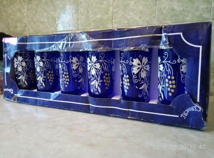 Продаю новые в наборе стаканы 6 штук за 350 сом. Звонить по телефону. Photo 0