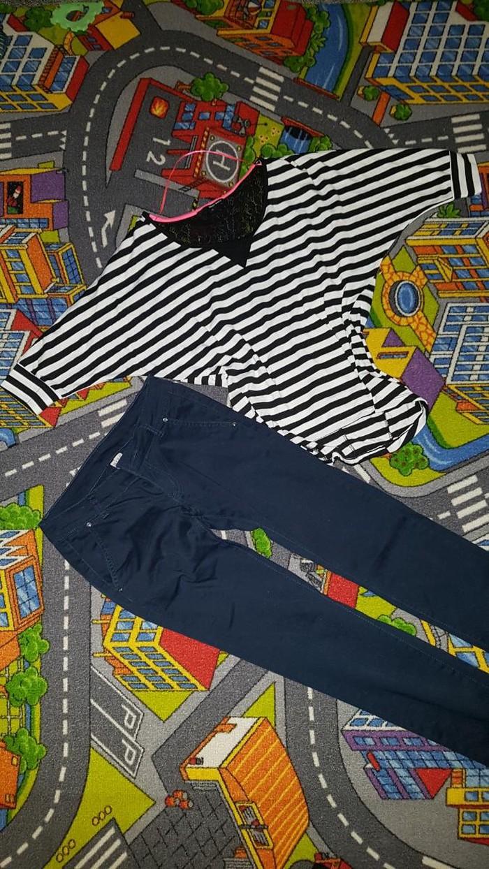 Divne teget pantalone i majcica, 550 din