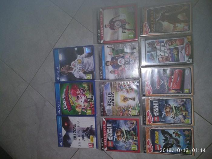 Παιχνίδια για ps4 10€, για ps3 και για psp 5€.. Photo 0