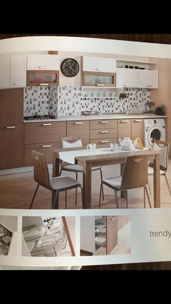 Bakı şəhərində Кухонная мебель(3,22 на 60 см) без стола и стульев